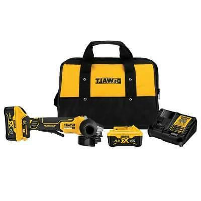 Angle Grinder DeWalt Electric Power Tool Side 4-1/2""