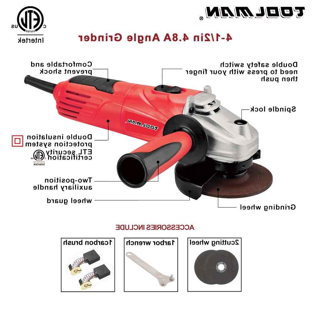 Electric Angle Grinder 4.8 Amps 11500 for