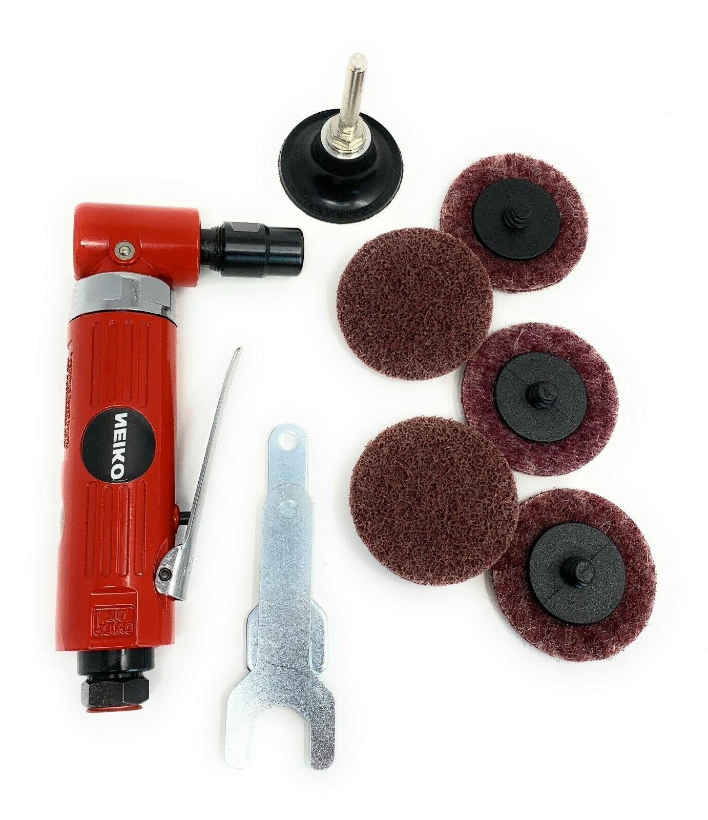 Valley Heavy Duty 1/4-inch Angle Air Die Grinder
