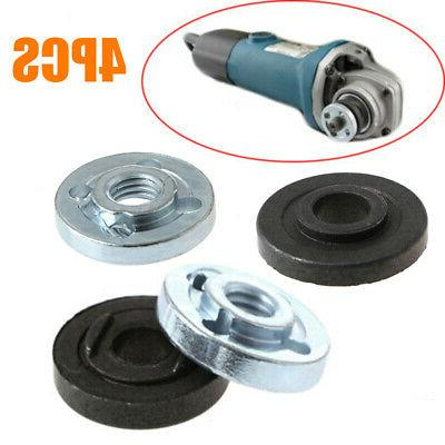 Parts Angle Grinder Flange Inner/Outer Tools Spare Kit 4Pcs
