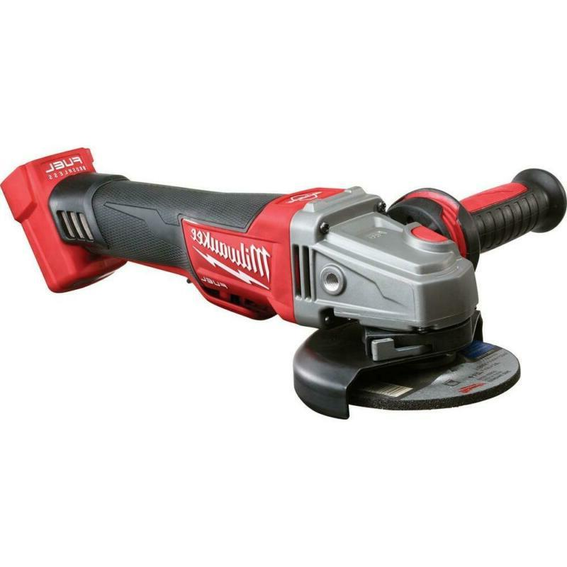 M18 Fuel 18-Volt Lithium-Ion Brushless Cordless 4 1/2 In To