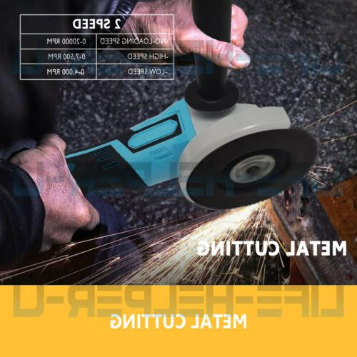 For Cordless Angle Grinder 125mm Replace DGA456