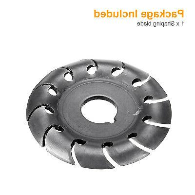 Woodworking for Electric Angle Grinder Disc Carving Shaping