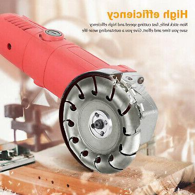 Woodworking for Angle Grinder Disc Wood Carving Cutting