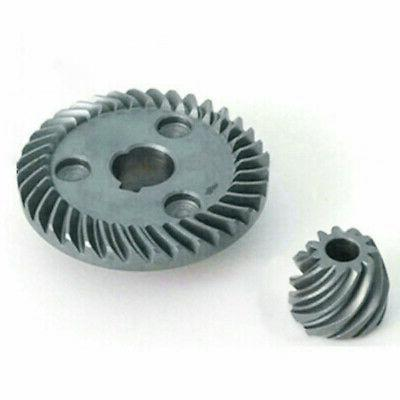 Spiral Teeth Bevel Gear Kit For Makita Angle Grinder 9557 NB