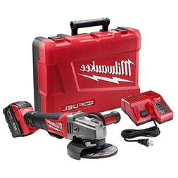 "Milwaukee M18 FUEL 4-1/2""/5"" PAD,1 BAT KIT"