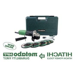Metabo HPT  4-1/2-in Sliding Switch Corded Angle Grinder