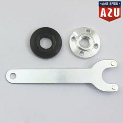 Metal Grinder Flange Lock Nut Wrench Kit Fit for Dewalt Milw