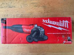 NEW Milwaukee 4.5 in. 7 Amp Small Angle Grinder with Slide S