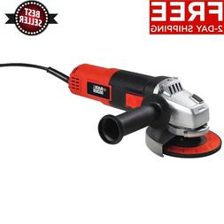 BLACK & DECKER 6-AMP 3 POSITION ANGLE GRINDER 4-1/2 INCH POW