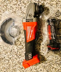 """New Milwaukee M18 FUEL 4-1/2"""" - 5"""" Angle Grinder With Paddle"""