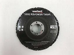 "2 PACK PAINT & RUST REMOVER GRINDER WHEEL DISC FOR 4-1/2"" AN"