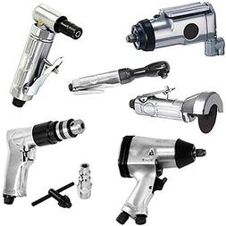 Power Tools Supplies 6p Air Tool Set 3/8 Butterfly 1/2 Impac