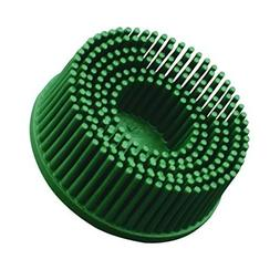 """Scotch-Brite Roloc Bristle Disc, 3 in x 5/8 Tapered 50, 40"