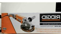 RIDGID 7 in Twist Handle Angle Grinder 15 Amp Corded Power T