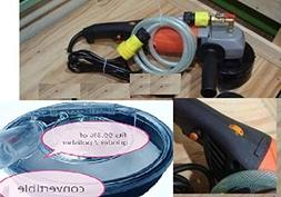 """7 Inch Variable Speed Wet Polisher and Grinder 7"""" Dust Shrou"""