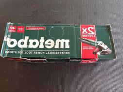 """Metabo WE 15-150 QUICK WE15-150Q WE15-150Quick  6"""" ANGLE GRI"""