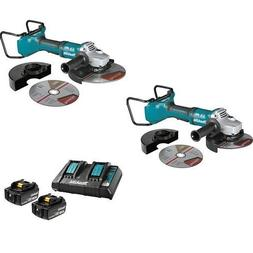 """Makita X2 LXT  Brushless 7"""" Cut-Off/Angle Grinder, XAG13Z1 1"""