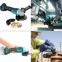 "Makita XAG09Z 18V LXT Lithium-Ion Brushless Cordless 4-1/2""/"