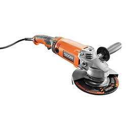 Ridgid ZRR10202 15 Amp 17 in. Twist Handle Angle Grinder